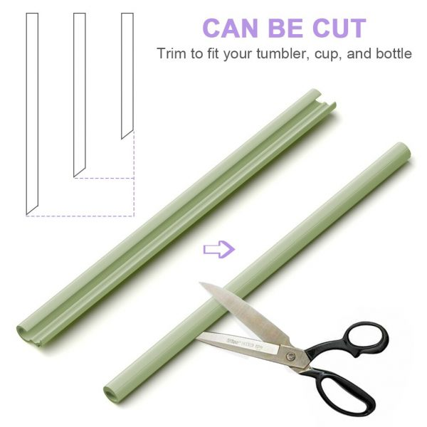 Easy To Clean High Temperature Disinfection Detachable Straws