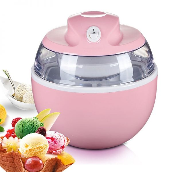 Full Automatic Ice Cream Machine 600ml