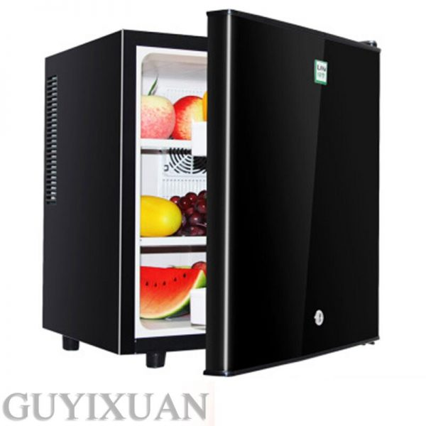 40L single door small refrigerator Small household freezer Commercial Fruit Beverage Mask fresh Cabinet