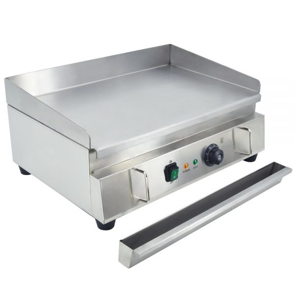 Electric Griddle Countertop Grill Adjustable Flat Top