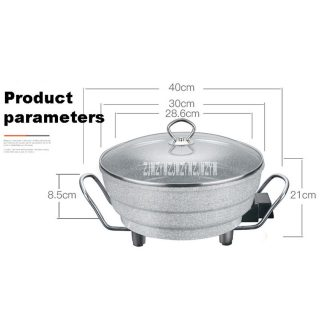 Wok Electric Cooker Wok Food Pot