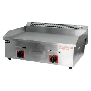 Commercial gas grill Flat plate