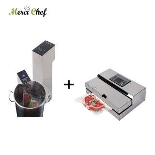 Vacuum Food Processor Sealer + Sous Vide Make Food