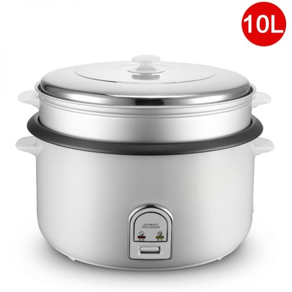 10L Large Capacity Rice Cooker Electric Food Steamer