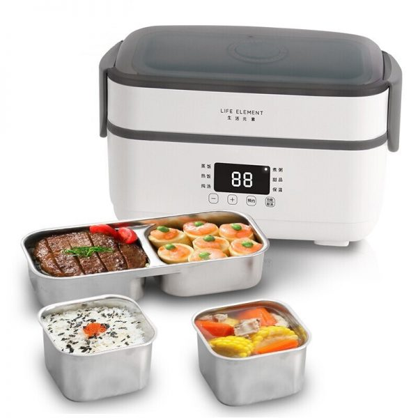 Electric Lunch Box Small Rice Cooker Automatic Heating