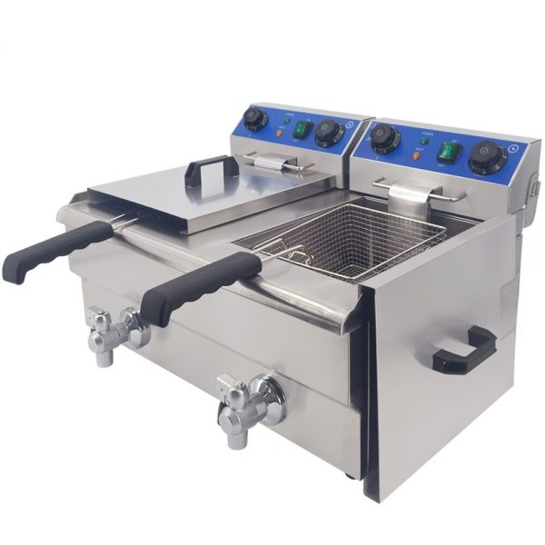 20L Large Capacity Industrial Electric Oil Fat Frying Machine