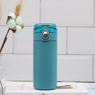 Bounce Transparent Cover Pea Cup Thermos Water Bottle