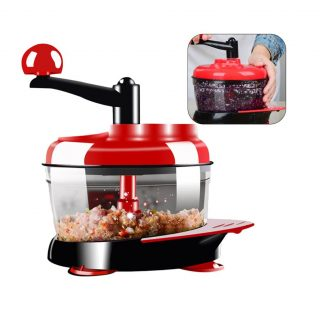 1.5L Manual Food Processor Multi-function Kitchen Gadget