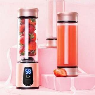Portable Electric Juicer Blender USB Mini Fruit Mixers