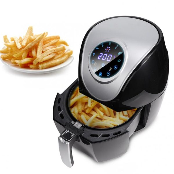 5L Air Fryer LED Touch Screen Timer Temperature Control