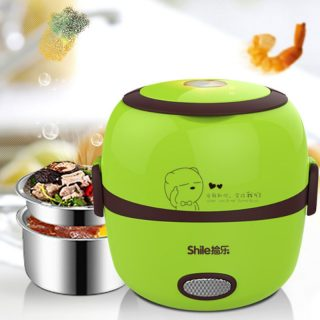 Rice Cooker Thermal Heating Electric Lunch Box