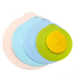 Food Bowl Pot Lid Silicone Cover Pan