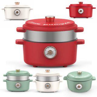 220V Multicooker Electric Hot Pot Wok Slow Cooker