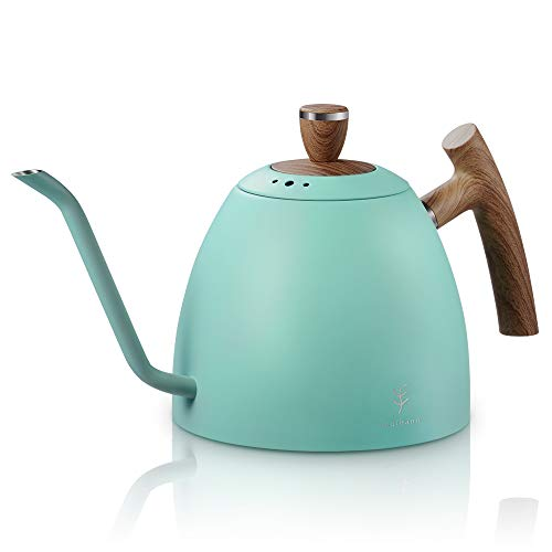 Pour Over Coffee Kettle With Fireproof Handle Gooseneck Kettle Tea Pot