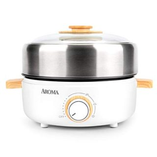 Aroma Housewares AMC-130 Whatever Pot, Indoor Grill