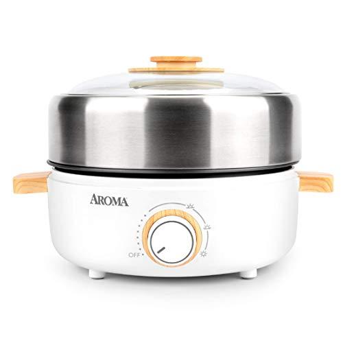 Aroma Housewares AMC-130 Whatever Pot, Indoor Grill