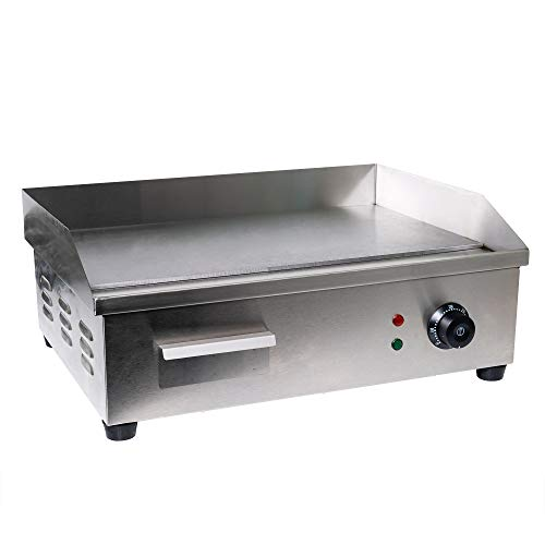 Electric Counter Griddle, Flat