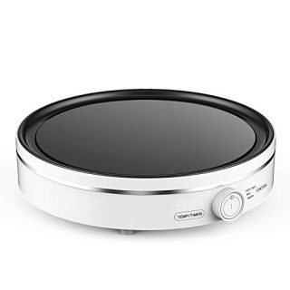 Portable Electric Induction Cooktop Countertop Burner Touch Sensor