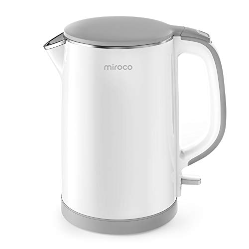 Tea Kettle with 1500W Fast Boiling Heater, Electric Kettle