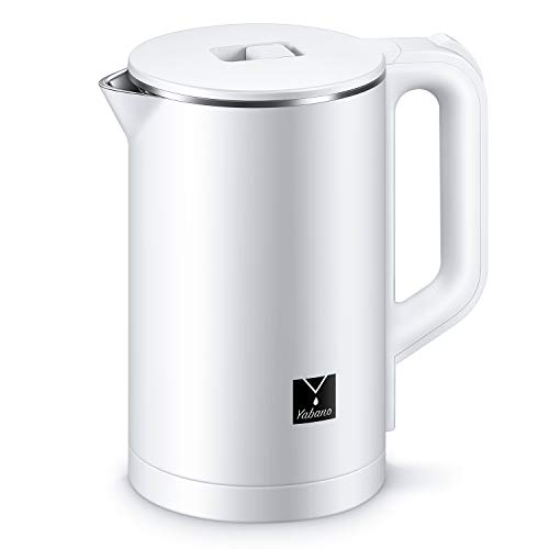 Double Wall Kettle with 100% Stainless Steel Interior Fast Water Boiler