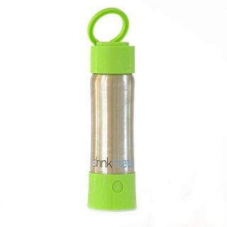 Drinkmate instaFizz - Portable Sparkling Water and Soda Maker Bottle, Carbonate ANY Drink On the Go - Includes 21oz Stainless Steel, Eco-Friendly Bottle - Green