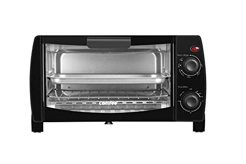 Comfee' Toaster Oven Countertop, 4-Slice, Compact Size