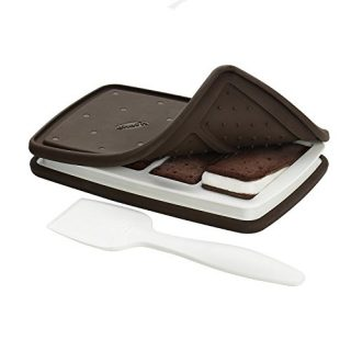 Chef'n Sweet Spot Ice Cream Sandwich Maker, Large, Black