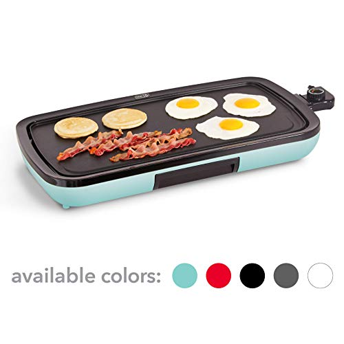 Electric Griddle for Pancakes, Burgers, Quesadillas