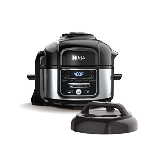 Pressure Cooker and Air Fryer with Nesting Broil Rack