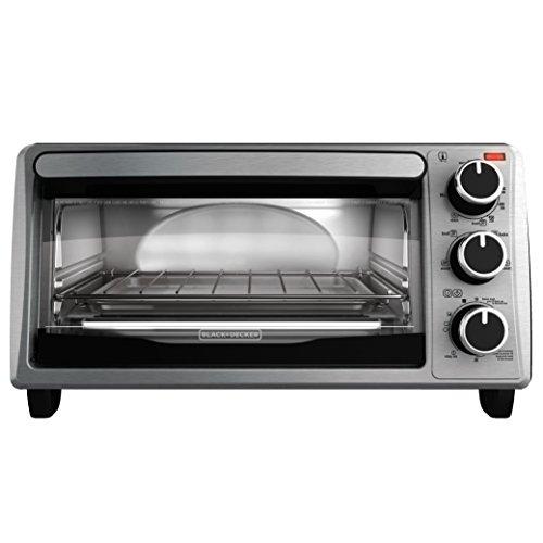4-Slice Toaster Oven Black+Decker Black