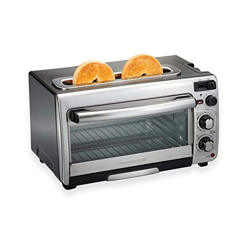 Countertop Oven and Long Slot Toaster Hamilton Beach 2-in-1