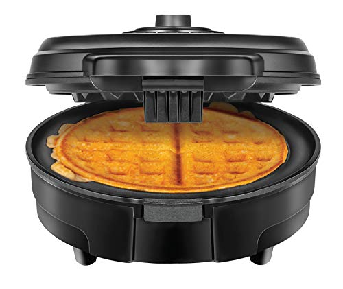 Anti-Overflow Belgian Waffle Maker w/Shade Selector