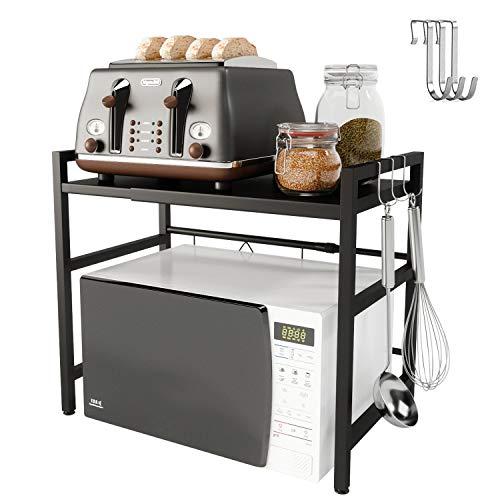 Microwave Oven Rack Shelf Expandable