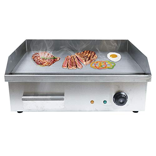 Electric Countertop Griddle Adjustable Temperature