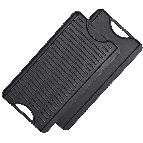 ron Griddle Reversible Pre-Seasoned Grill Pan
