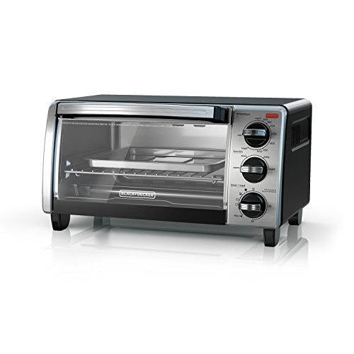 4-Slice Toaster Oven with Natural Convection BLACK+DECKER