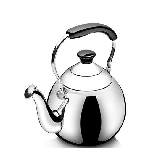 Stove Top Whistle Teapot With Heat-resistant Ergonomic Handle