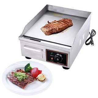 1500W Electric Countertop Griddle Grill