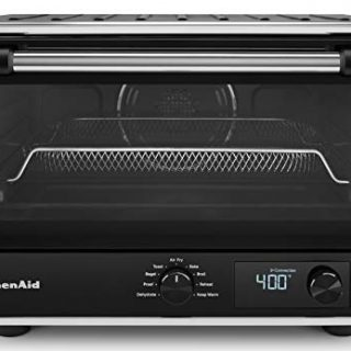 KitchenAid Digital Countertop Oven with Air Fry, Black Matte