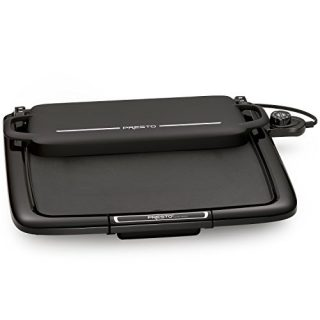 "Presto, W/WARMING RACK Griddle, 14"" x 15"", Black"