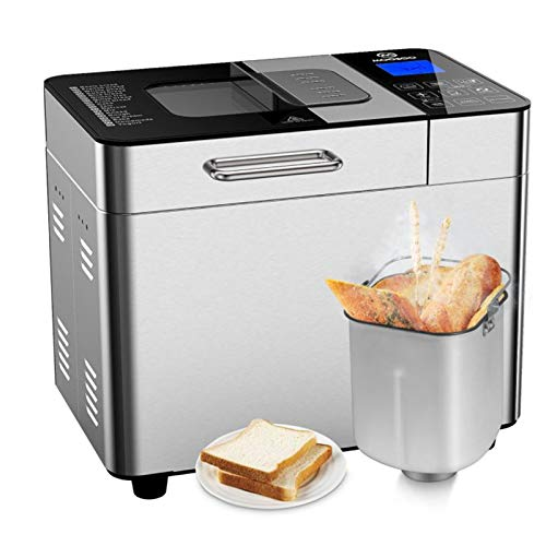 Bread Maker with Automatic Fruit Dispenser