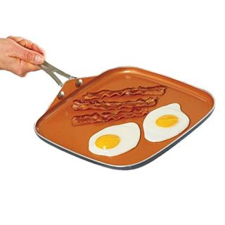 Gotham Steel Nonstick Pan Perfect for making Eggs, Pancakes, Bacon