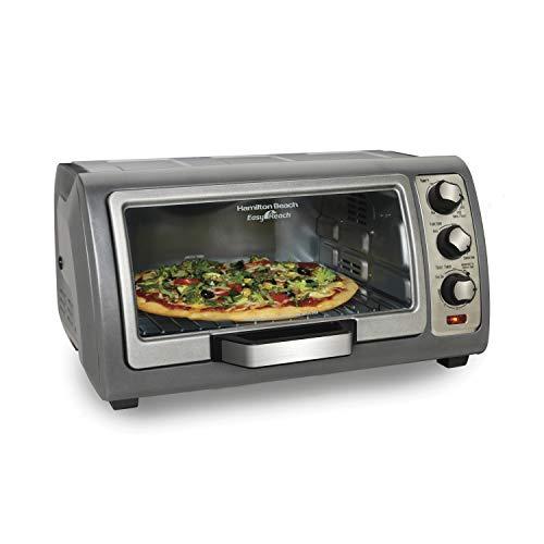 Toaster Oven Easy Reach With Roll-Top Door, 6-Slice