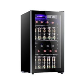 26 Bottle Wine Cooler Adjust Temperature