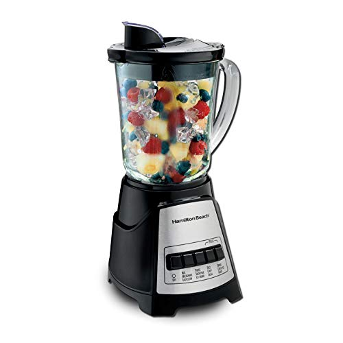 Hamilton Beach Power Elite Blender with 12 Functions for Puree