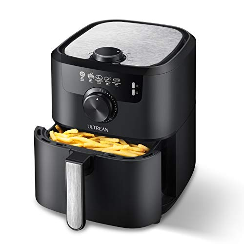 Quart Matte Finish Design Electric Hot Air Fryers Oven Cooker