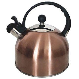 Whistling tea kettle stainless steel Teapot for ergonomic Handle