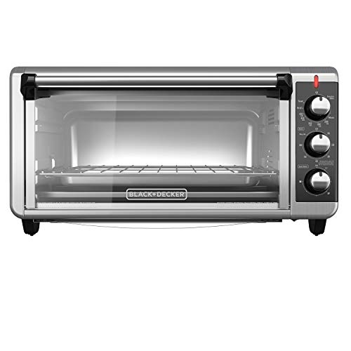 8-Slice Extra Wide Convection Countertop Toaster Oven