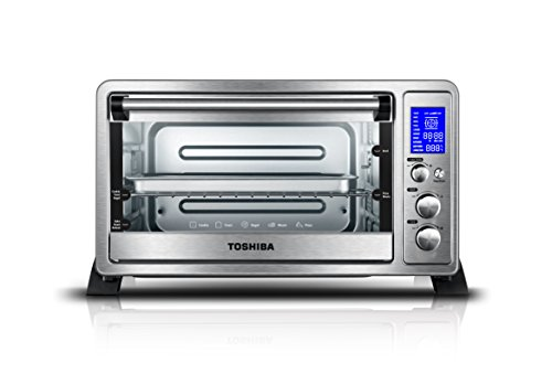 Digital Toaster Oven with Convection 6-Slice Bread/12-Inch Pizza