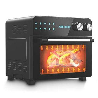 Quart Air Fryer Toaster Oven Combo for Large Family
